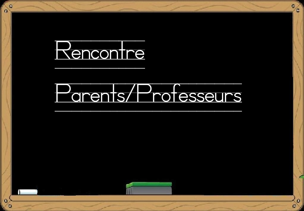 Rencontre parents enseignants college